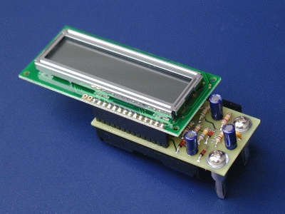 FreqShow Function Generator Frequency Display circuit board with LCD module