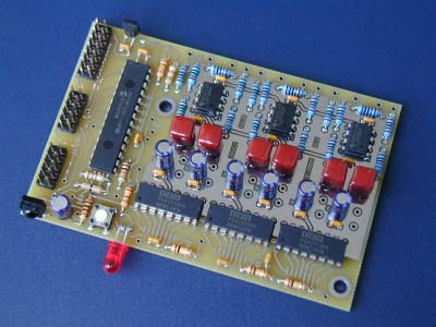 IRVC2 six channel board